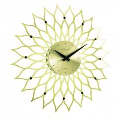 London Clocks Gold Flower 24210