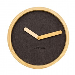 Nextime klok Calm Wood 30 Brown 3155BR