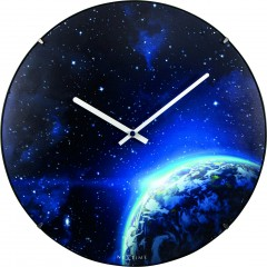 Nextime klok Globe Dome Glass 35 Luminous 3176