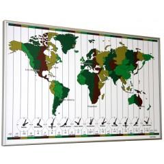 TTD Wereldklok Time Zone