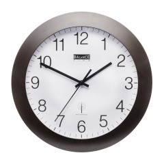 Balance Time Wandklok 506411 Zwart