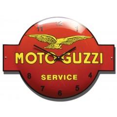 Emaille klok Moto Guzzi KLM-03
