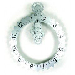 Invotis Big hour wheel clock