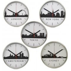 Set van 5 TTD Skyline klokken