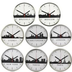 Set van 8 TTD Skyline klokken